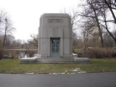 Art Deco John S. Homes Mausoleum | Gravely Speaking | Vintage and Retro Style | Scoop.it