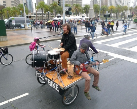 Rock The Bike | Heart is a Lock, Music is the Key | Scoop.it