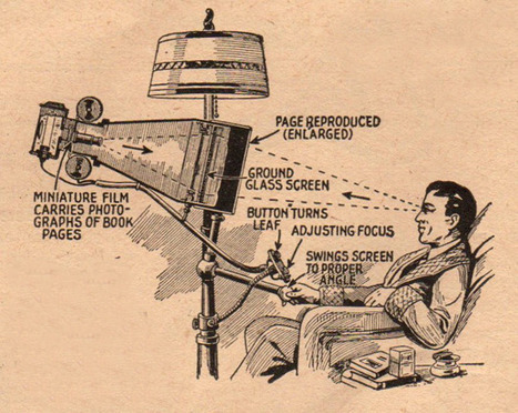 """The book reader of the future"", 1935 Move over ipad! 
