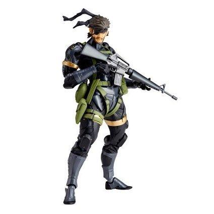 Figure Kaiyodo Revoltech Yamaguchi #131 Gear Solid Action Figure MA