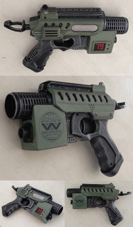 Aliens: Colonial Marines thoughts and Nerf Nite Finder Pulse Pistol ... | Steampunk Elsewhere | Scoop.it