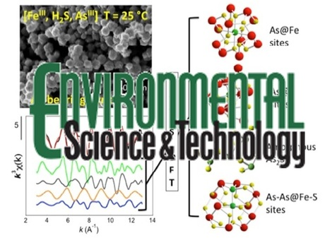 Arsenic incorporation in pyrite at ambient temperature at both tetrahedral S-I and octahedral Fe+II sites | Mineralogy, Geochemistry, Mineral Surfaces & Nanogeoscience | Scoop.it