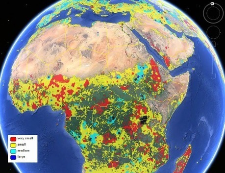 Finding farmland: New maps offer a clearer view of global agriculture - 2015 - IIASA | IdeasInnovadoras | Scoop.it