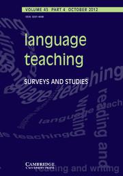 Language Teaching Vol. 45 Iss. 04   TELT   Scoop.it