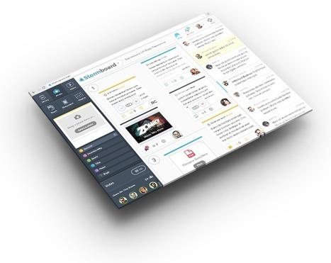 Organiser un brainstorming en ligne avec Stormboard   TUICE_Université_Secondaire   Scoop.it