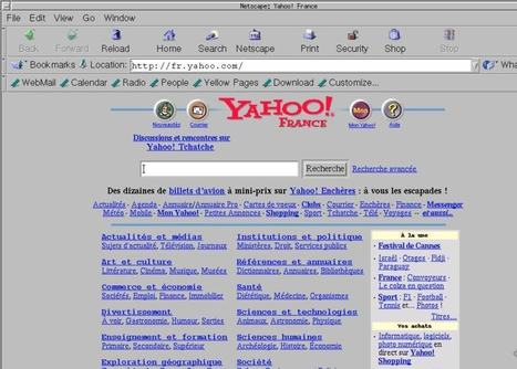 Oldweb Today. La machine à remonter le Web – Les outils de la veille | veiller | Scoop.it