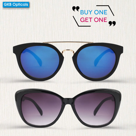 86ba2611ce0 BOGO Offer – Buy One Sunglass and Get One Sunglass at GKB Opticals