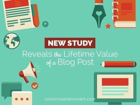 New Study Reveals the Lifetime Value of a Blog Post   #KESocial   Scoop.it