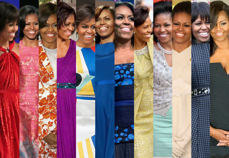 What Michelle Obama Wore and Why it Mattered | Looks - Photography - Images & Visual Languages | Scoop.it