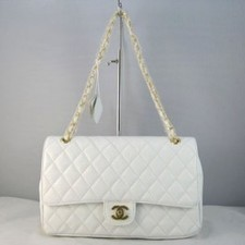 2bbcfe8ccaf9ac Chanel Coco Bags 1119 White Ball and Gold Chain Coco Bags | replica chanel  blog