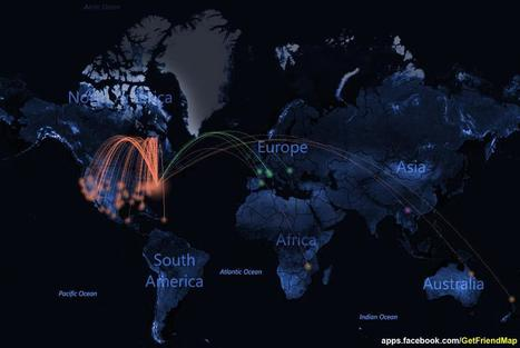 Personalized Facebook 'Friend' Maps | Geomatic | Scoop.it