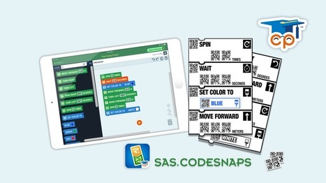 SAS CodeSnaps: A New Way to Code! | idevices for special needs | Scoop.it