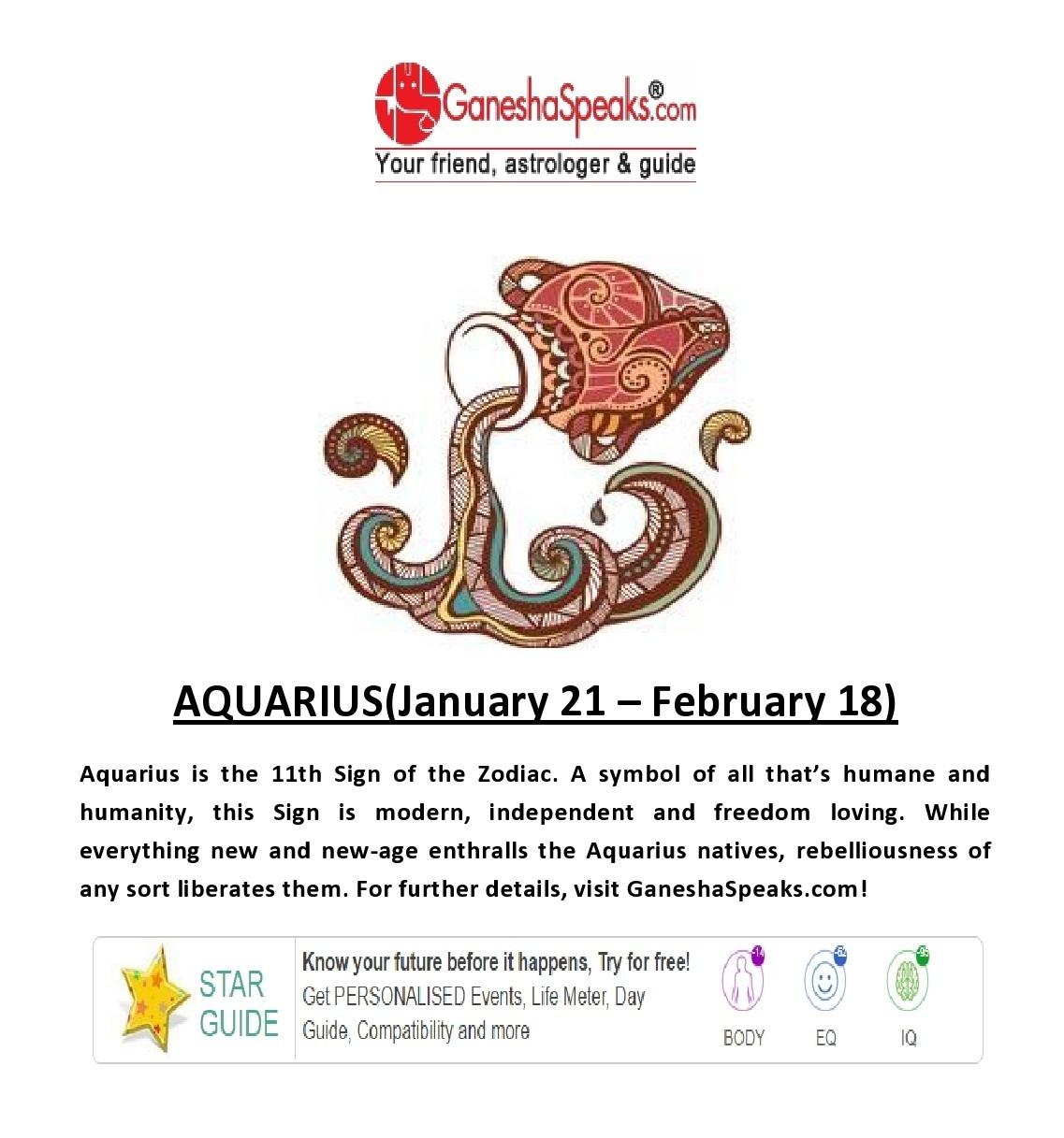 march 9 horoscope aquarius ganesha