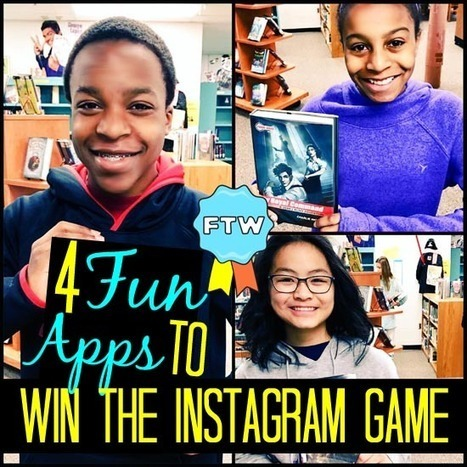 4 Fun FREE Apps to Win The Instagram Game | iPads, MakerEd and More  in Education | Scoop.it