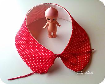 JULIE ♥ ADORE: Col Claudine ( tuto + patron ) | Du fait main & some handmade | Scoop.it