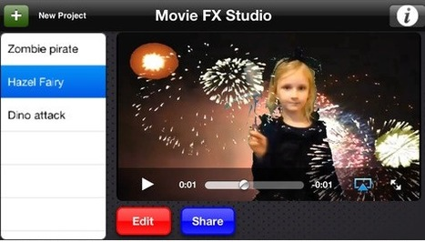 Green Screen Movie FX Studio: Add Special Effects To Your Videos | Create, Innovate & Evaluate in Higher Education | Scoop.it