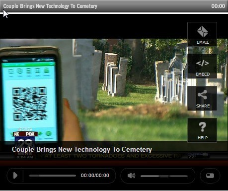 The ultimate dead spot? QR codes on headstones offer a digital legacy | QR-Code and its applications | Scoop.it