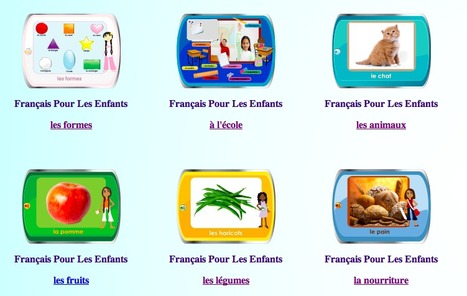chillola.com French for Kids - Free French Learning Resources Lessons and Instructions for Children, learn french with fun games and activites, teach kids french | 21st Century Homeschooling | Scoop.it