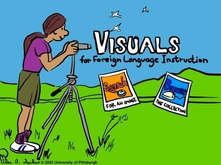 Free Technology for Teachers: Visuals for Foreign Language Instruction Offers Hundreds of Drawings | Coordenadas | Scoop.it