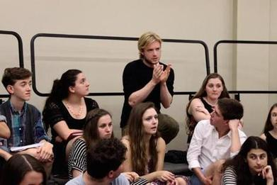 Broadway star Matthew James Thomas visits Boston Children's Theatre program ... - Boston Globe | Acting Training | Scoop.it