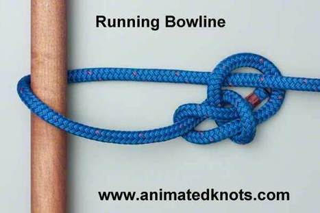 Running Bowline | How to tie the Running Bowline | Knots | Self Bondage Magazine | Scoop.it