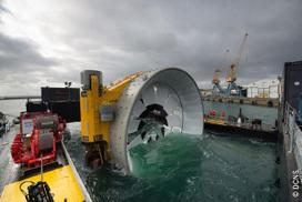 Hydrolien: le site pilote de Paimpol-Bréhat bientôt connecté au réseau | Eolien-Energies-marines | Scoop.it
