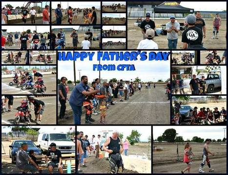 Happy Father's Day!! Thanks again to all the families that came out to our race... | California Flat Track Association (CFTA) | Scoop.it
