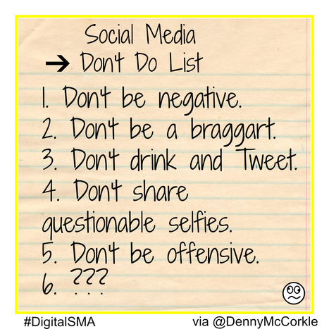 social networking dos and donts essay