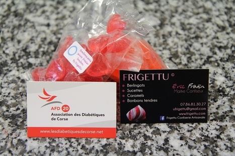 Des bonbons sans sucre pour l'AFD20 par Eric Frandin Maître Confiseur | Diabétiques de Corse | ADC | Scoop.it