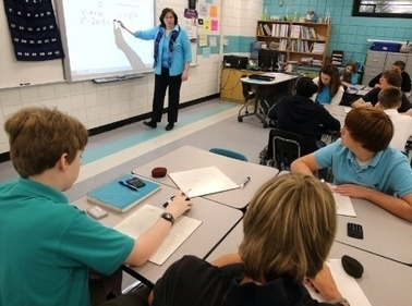 Math teacher shows students the art of numbers // Video // Slideshow - Government - The News Herald | The 21st Century Educator | Scoop.it