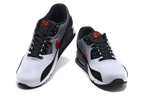 new concept 711be d4cef UK Nike Air Max 90 EM Mens Black White Red Cheap Online
