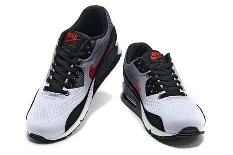 new concept a06fb 5aec7 UK Nike Air Max 90 EM Mens Black White Red Cheap Online
