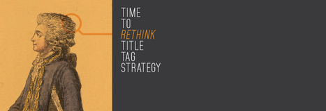 It's Time to Rethink Title Tag Strategy (Again) by Vertical Measures | Links sobre Marketing, SEO y Social Media | Scoop.it