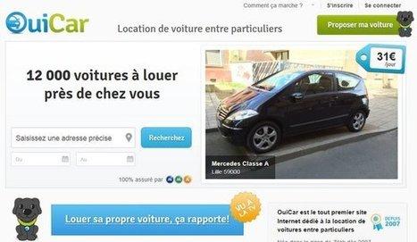 OuiCar, l'irrésistible ascension du site de location de voitures | service-en-plus | Scoop.it