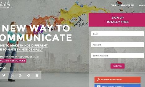 Genial.ly, c'est génial !   TICE et formation   Collection d'outils : Web 2.0, libres, gratuits et autres...   Scoop.it