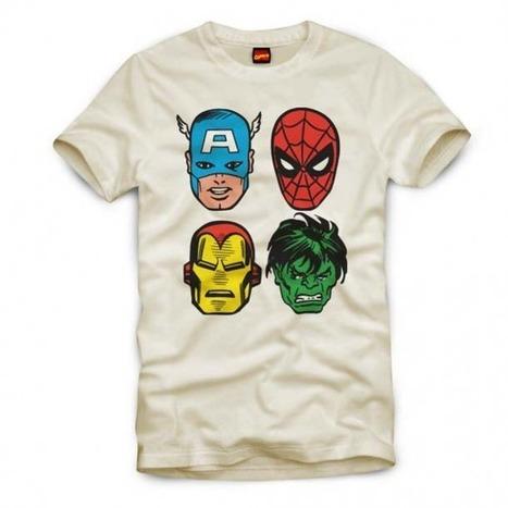 Arrivano i Supereroi. Presto, su tutte le T-shirt! | DailyComics | Scoop.it
