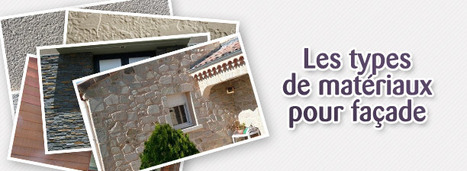 [diaporama] les différents types de matériaux pour façade   Immobilier   Scoop.it