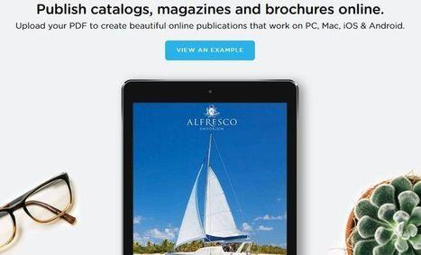 Publitas: transforma un PDF en un bonito magazine online | Prof. Laura Faruelo - Curador educativo | Scoop.it