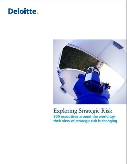 Les risques stratégiques changent … de plus en plus viteb3b - Veille et banque | b3b | Point de vue sur le flux Information | Scoop.it