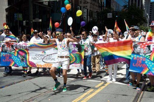 Comcast California and the San Francisco Pride Festival and Parade