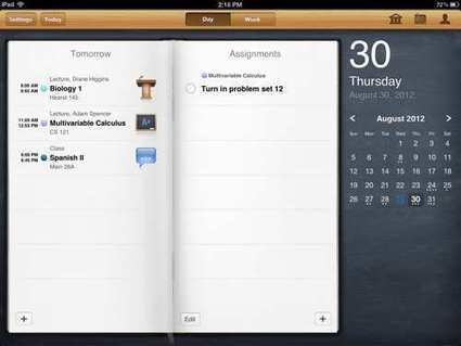 Keep Tabs On Your Classes, Homework And Projects with iStudiez Pro – iPad App Review | PadGadget | Using the Amazing iPad | Scoop.it