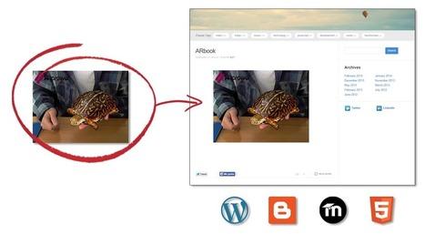 Realidad Aumentada en tu web: llegan los ARbooks empotrados   Ticenelaula   Scoop.it