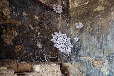 NeSpoon, installation | Art Installations, Sculpture, Contemporary Art | Scoop.it
