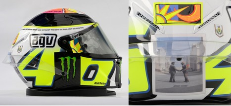 NEW AGV Valentino Rossi Limited Edition | Motorcycle Industry News | Scoop.it