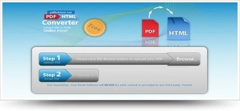 Convertir un fichier PDF en HTML en ligne | Time to Learn | Scoop.it