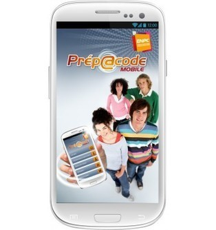 prepacode sur android