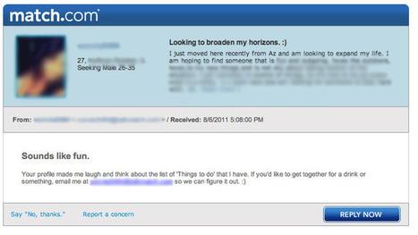 successful dating website profile