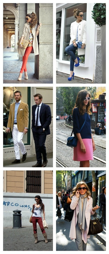 How to Dress Like an Italian: Spring Edition | Italia Mia | Scoop.it
