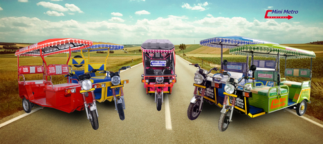 Battery Rickshaw Manufacturers In Meerut Elec