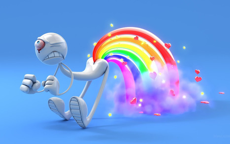 Colourful 3D Widescreen Background HD Wallpapers